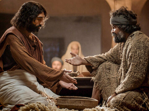 When it came to Simon Peter's turn, he asked, 'Lord are you going to wash my feet?' – Slide 6
