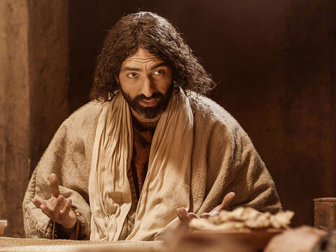 'Do you understand what I have done for you?' Jesus asked. 'I have set you an example that you should do the same. No servant is greater than his master, nor is a messenger greater than the one who sent him.'  – Slide 12