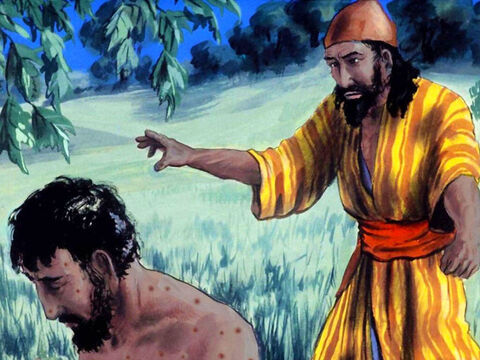 Job's friend Zophar answered, 'Will your empty talk reduce men to silence? Will no one rebuke you for what you have said? I wish that God would speak up against you. – Slide 40