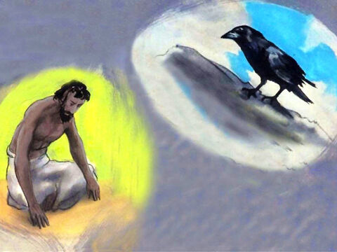 'Who gives food to the raven, when its young cry out to God? – Slide 52