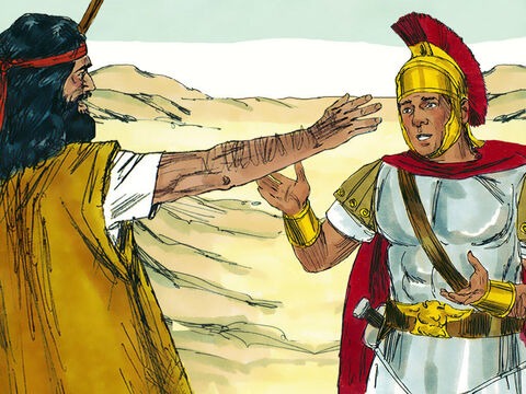Soldiers wanting to repent were told not to cheat people out of money or accuse people falsely. Tax collectors were warned not to collect more money than they should. – Slide 6
