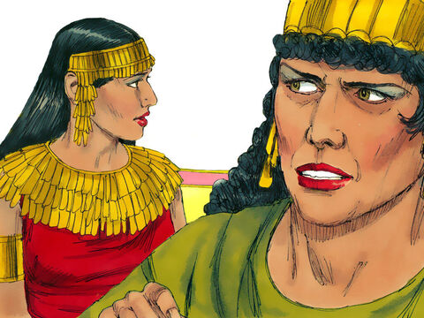 Herodias was married to Philip. However she broke Jewish law to divorce him and marry his half-brother Herod Antipas. Herod Antipas also divorced his wife to make the marriage possible. Herodias had a daughter from her first marriage called Salome. – Slide 2