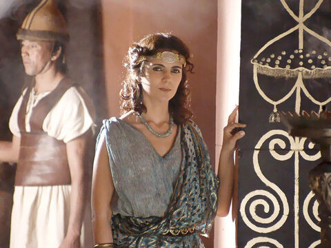 However his new wife Herodias holds a deep grudge against John and is scheming to have him executed. – Slide 9