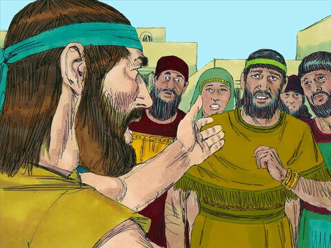 Jonah was a prophet of God who preached to Jews living in Israel. He told them that God wanted them to stop worshipping false idols and obey Him. He knew that God would forgive those repented of their sin. – Slide 1
