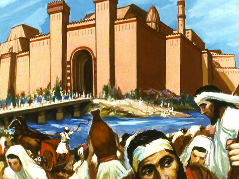 In Bible times Nineveh was the capital of the nation of Assyria. This great city was large in size and population. – Slide 1