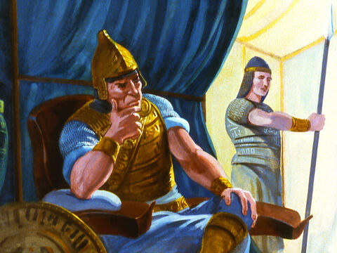 The King was a powerful man of war and his armies were conquering first one country then the next as the Assyrian Empire grew. Everyday they were getting closer and closer to the borderland of Israel – Slide 3
