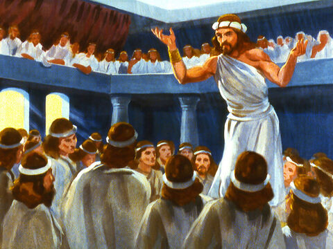 Living in the land of Israel was a prophet of God called Jonah who delivered messages from God to the people. – Slide 7