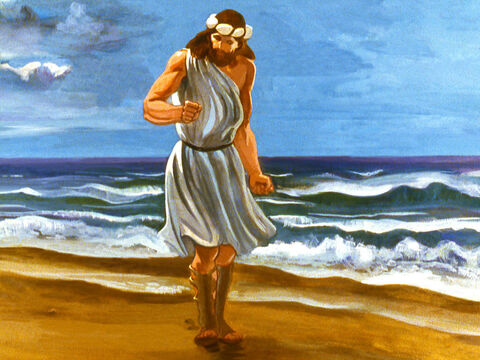 Jonah decided to ignore God and headed in the opposite direction from Nineveh to the coast. – Slide 10