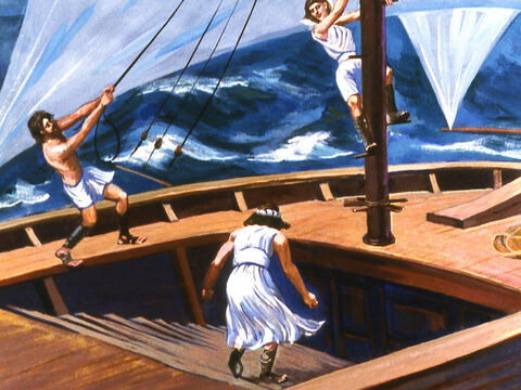 But can you run away from God? Jonah thought he could. – Slide 13