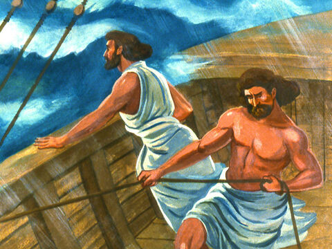 But how could Jonah call on God when he was running away from him? – Slide 19