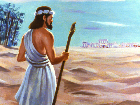 God repeated His instruction for Jonah to go to the city of Nineveh. This time Jonah obeyed. – Slide 28