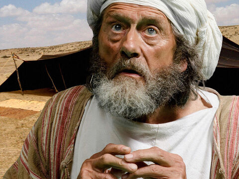 'Everything is going against me! Benjamin will not go to Egypt with you. His brother Joseph is dead, and he is all I have left. If anything happened to Benjamin I would die.' – Slide 26
