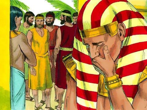 They did not know that Joseph could understand all they were saying as they had been speaking through an interpreter. Joseph turned away from them and began to weep. – Slide 8