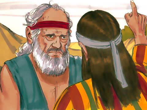 Joseph shared the dream with this father. 'What is this dream you had?' Jacob asked. He told Joseph off asking, 'Will your mother and I and your brothers actually come and bow down to the ground before you?' – Slide 7