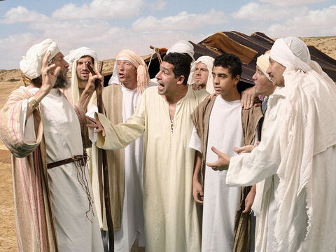 'Joseph is still alive!' they told him. 'And he is governor of all the land of Egypt!' – Slide 4