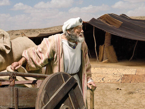The brothers once again told Jacob everything Joseph had told them. When Jacob saw the wagons Joseph had sent to carry him, he had a new lease of life. – Slide 6