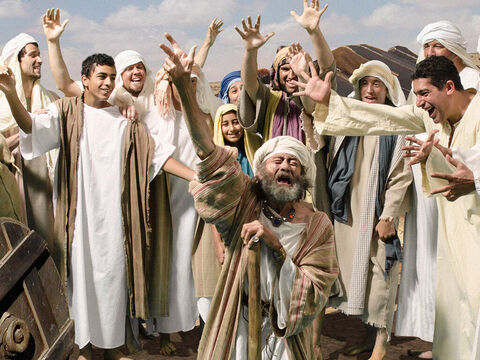 Jacob exclaimed, 'It must be true! My son Joseph is alive! – Slide 7