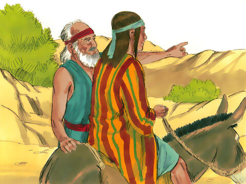 Jacob told Joseph, 'Go and see if all is well with your brothersand with the flocks, and bring word back to me.' – Slide 2