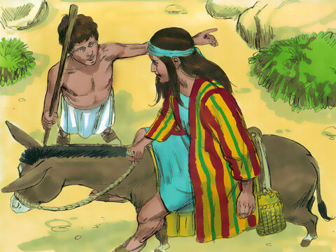 """A man asked, 'What are you looking for?' Joseph replied, 'I'm looking for my brothers. Can you tell me where they are grazing their flocks?''I heard them say, """"Let's go to Dothan,'"""" the man replied. – Slide 4"""