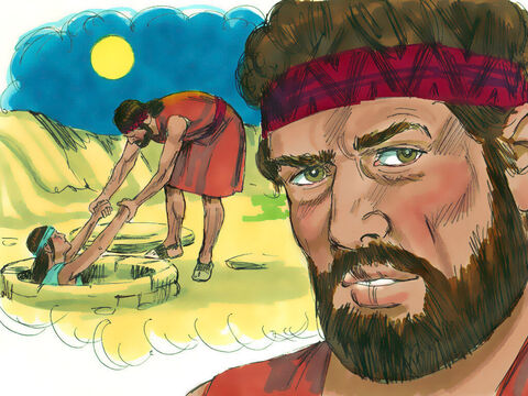 Reuben said this planning to rescue Joseph later and take him back to his father. – Slide 10