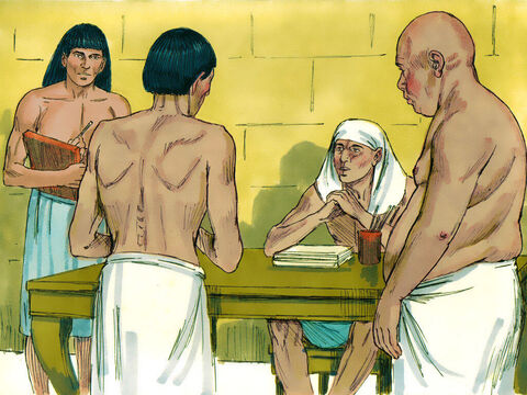 The two men were immediately released from jail to face Pharaoh and all those attending the birthday celebrations. – Slide 10