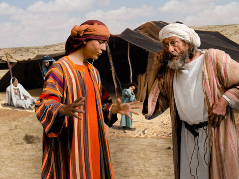 v10. Joseph goes and tells his father Jacob about his dream. – Slide 16