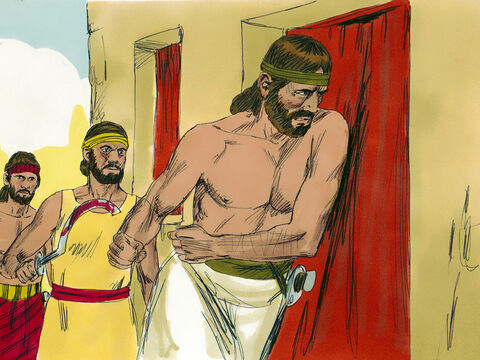 The livestock and the treasures of the town were taken as plunder for themselves, as the Lord had permitted. – Slide 12