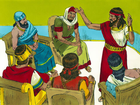 The leaders of the tribes in Canaan were dismayed the people of Gibeon were now allies of the Israelites. – Slide 2