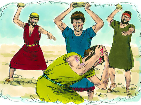 Prophets and teachers of God's laws were attacked and put to death. – Slide 5