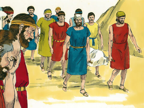 Although wicked King Manasseh later pleaded with God to forgive him and changed his wicked ways, the damage had been done. People did not care for God or obey Him. When Manasseh died he was buried in the palace garden. – Slide 6