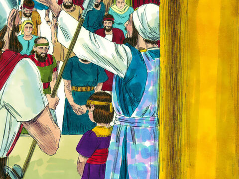 King Amon's son Josiah was only 8 years old when he was crowned king. However this young boy decide he wanted to follow God rather than the wicked ways of his father and grandfather. – Slide 8