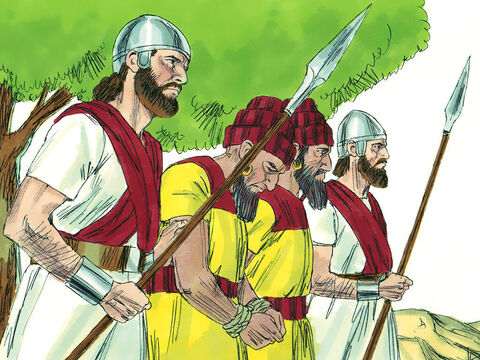 Pagan priests who had led people into wickedness were rounded up and executed. – Slide 22