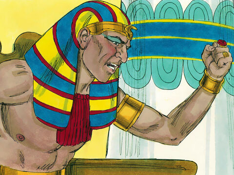 Pharaoh Necho sent messengers to Josiah saying, 'Why are you planning to fight me? It is not you I am attacking. God has told me to hurry north. So stop opposing God, who is with me, or He will destroy you.' – Slide 25