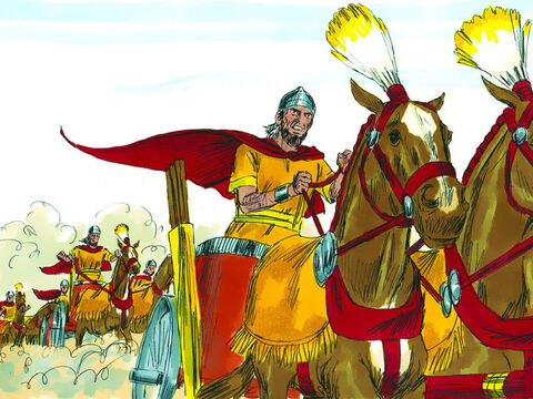 King Josiah ignored this warning and disguised himself as a soldier to lead his troops into battle. – Slide 26