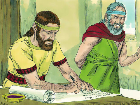 The prophet Jeremiah composed songs of lament about Josiah which singers wailed to show how much the King would be missed. The Bible describes Josiah as a good king who did what was right. – Slide 30