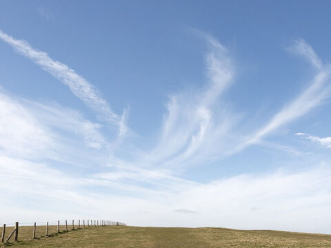 Clouds over the downs. – Slide 27