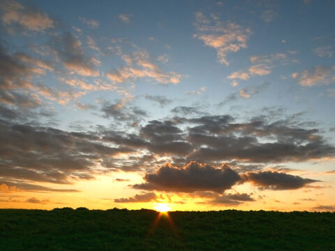 Sunset in Wales. – Slide 4