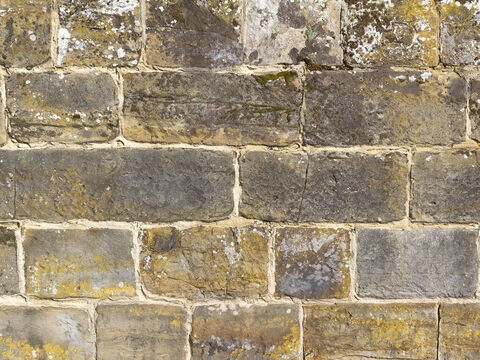 Old stone wall. – Slide 16