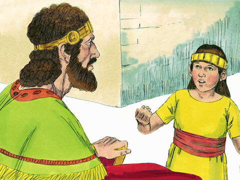His father Hezekiah loved God. When Hezekiah had been ill and dying God had healed him and extended his life by 15 years. Once Manasseh was 12 years old, Hezekiah reigned together with his young son to train him to become a good ruler. – Slide 2