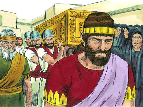 Manasseh was 22 years old when his father Hezekiah died. He was now free to rule as he wanted. – Slide 4