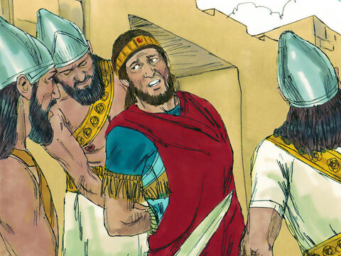 They captured Manasseh and put him in chains. – Slide 12