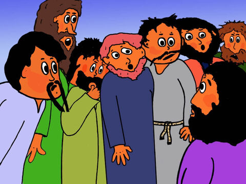 Philip and the disciples were puzzled, 'It would take more than half a year's wages to buy enough bread for everyone in this large crowd.' – Slide 13