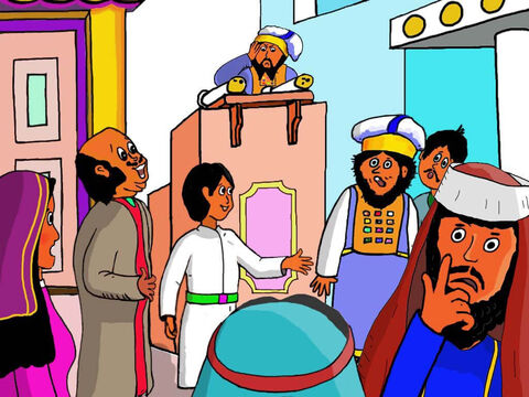 They did not know it but Jesus had been in the Temple all that time. It was God's house – His Father's house. – Slide 24