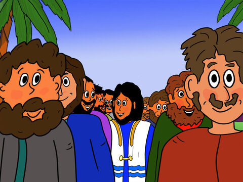 As Jesus walked on earth, he chose 12 men to follow Him as His disciples. Some of these disciples were known as Peter, James, John, Philip and Judas, among others. – Slide 1