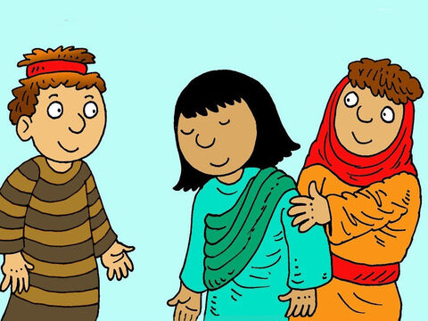 Rachel was jealous of Leah's children.  She had an idea. She took her maid Bilhah to her husband and said, 'Bilhah can have my children for me.' – Slide 3