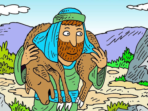 The twin brothers were different in other ways too. Esau loved to go away hunting venison for his father Isaac's dinner, but Jacob liked staying at home cooking. – Slide 3
