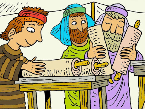 Isaac wanted his boys to know about God's promise to their ancestor, Abraham, that their family would have God's special blessings and become great. – Slide 4