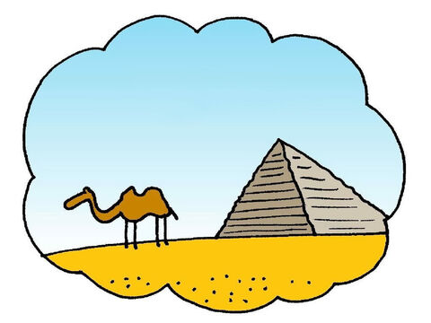 Joseph's brothers were not kind to him. They sold him to some traders who took him to Egypt. – Slide 1