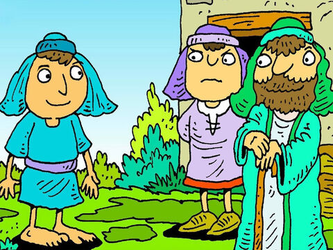 Joseph had ten big brothers and one little brother. He loved God and he loved his family. – Slide 2