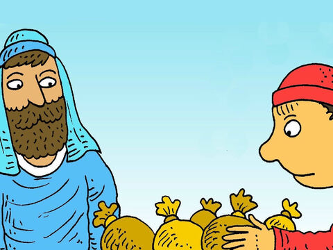 What would Matthew do? Would he leave his money? Would he leave his job to follow Jesus? – Slide 6